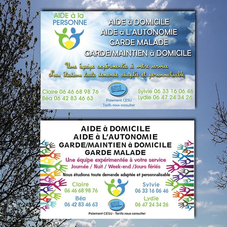 Carte Garde D Enfant Cration De 2 Visuels Et Dun Logo Pour Une Quipe Daide Domicile Celui Du Bas A